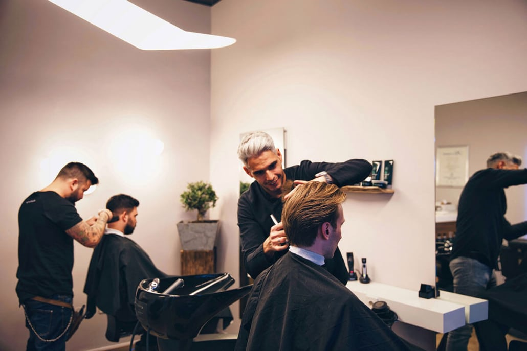Ihr Friseur Frankfurt Speziell Für Herrenfrisuren Mos Hauptsache